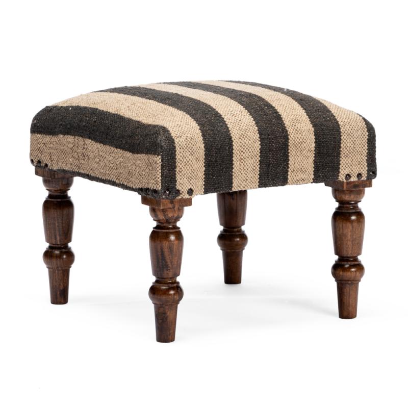 Agadir kilim stool