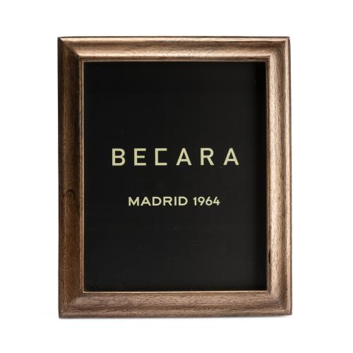Marco de fotos marrón - BECARA