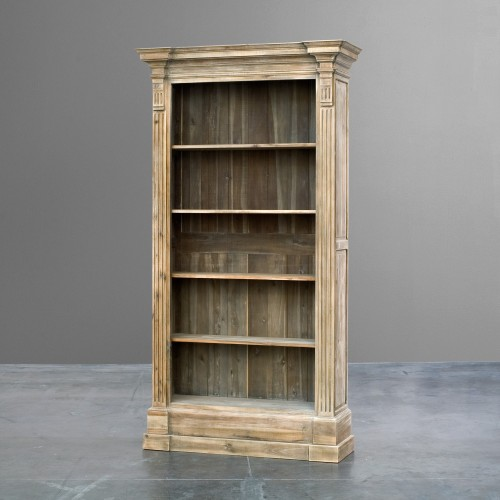 Bookcase with columns